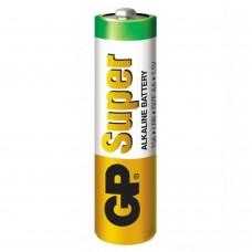 Батарея алкалиновая GP Super (LR6), типа АА, 1 шт