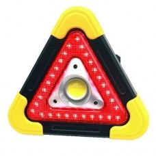 Прожектор светодиодный автономный HB-6609-COB+LED(STOP) покупай по низкой цене